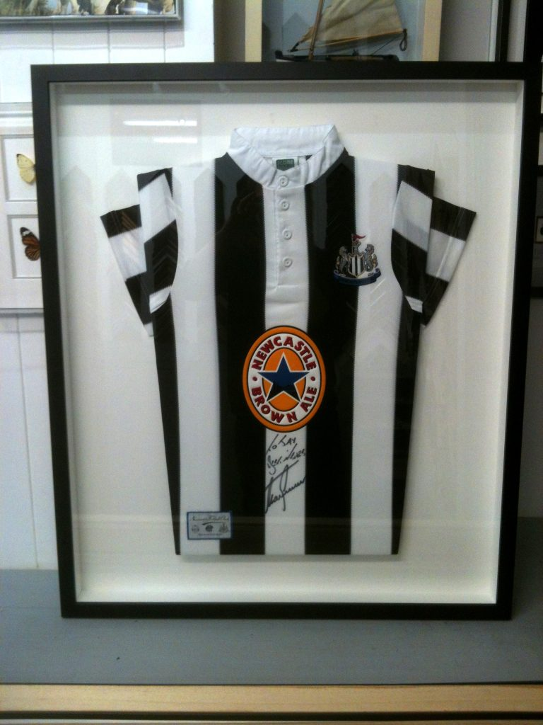 Amanda Crowe - Newcastle Alan Shearer signed shirt
