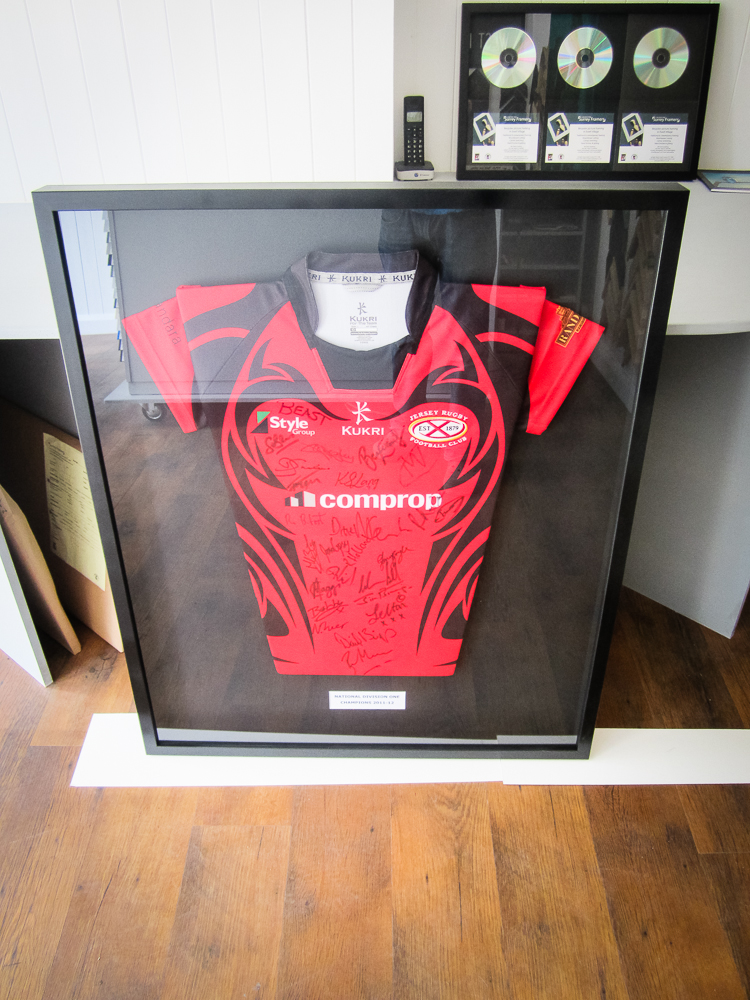 Nicholas, Ewell - Jersey signed rugby sports memorabilia sports shirt