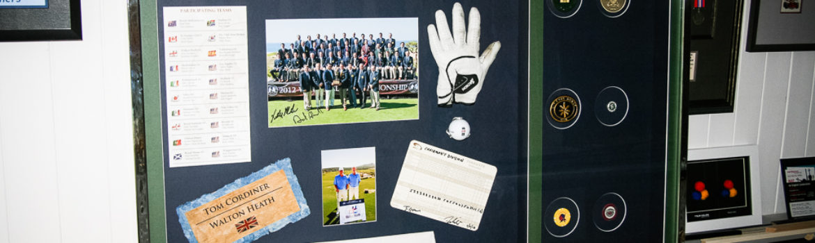 Nicky Mann - Golf memorabilia
